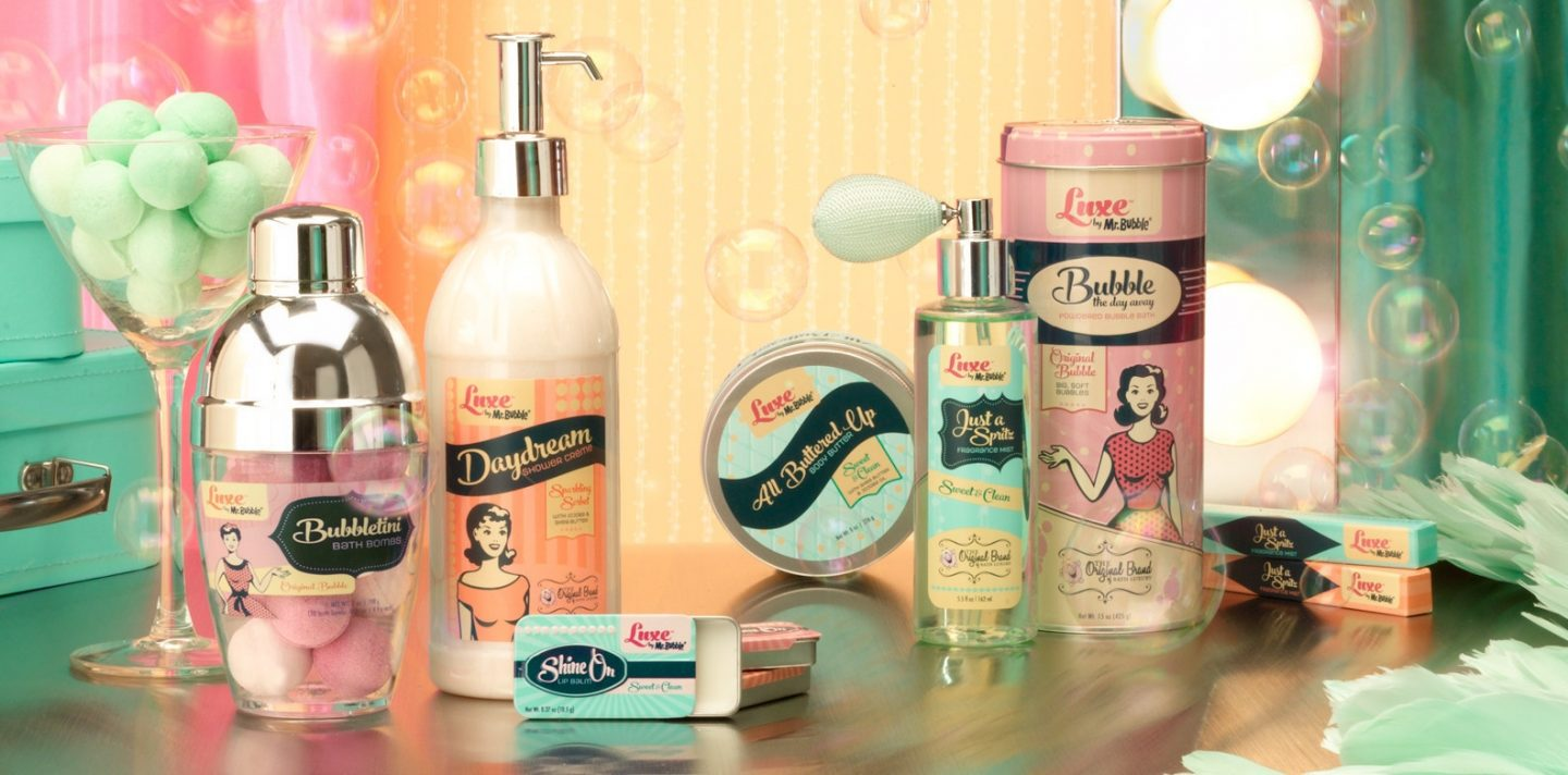 Mr. Bubble Introduces New Line: Luxe