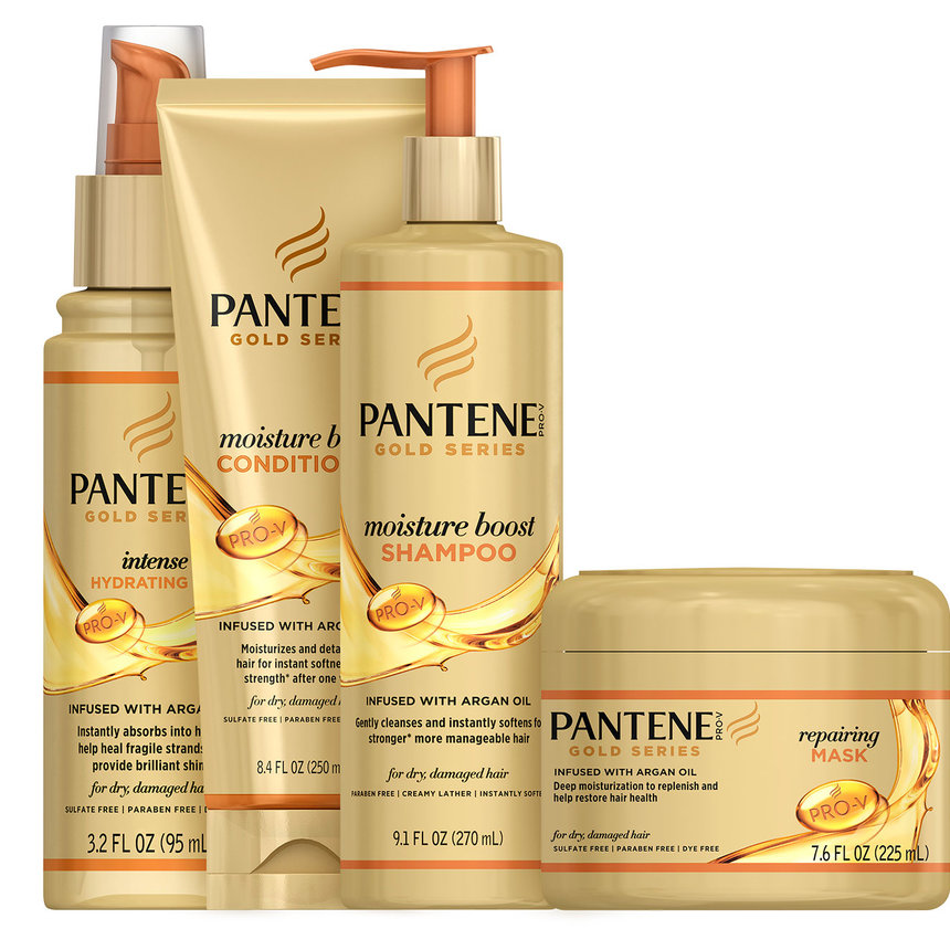 Review Pantene Pro V Gold Series Deep Hydrating Co Wash