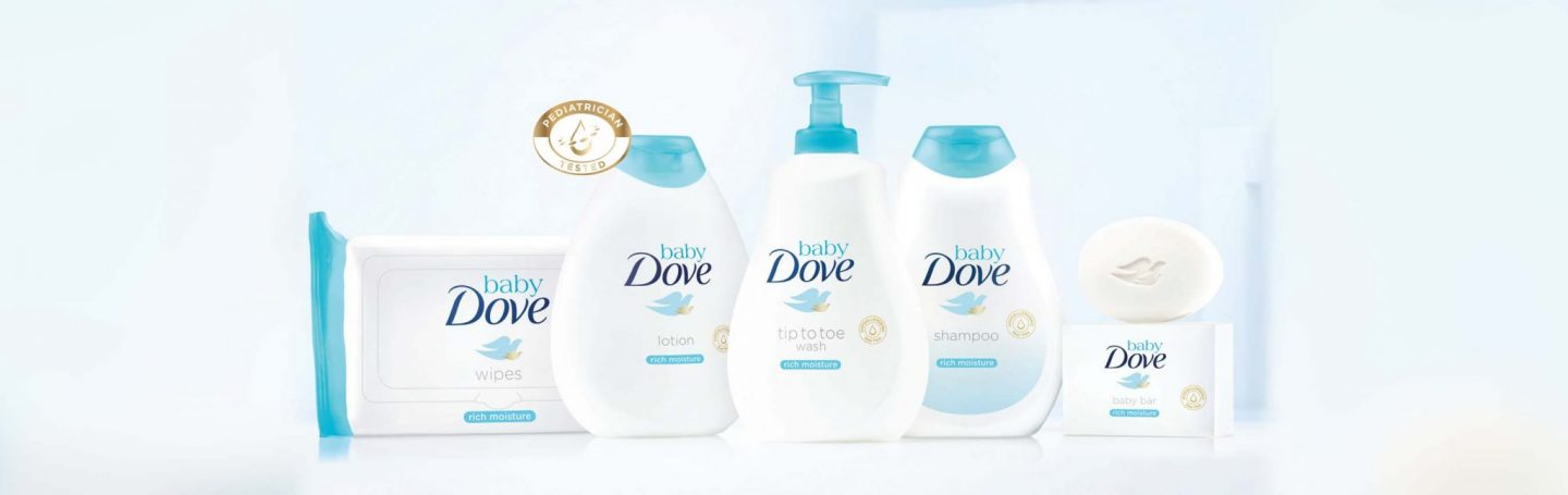 Dove Introduces Baby Dove Line
