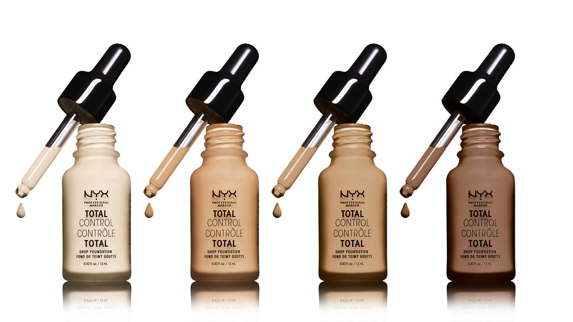 NYX Unveils Total Control Drop Foundation