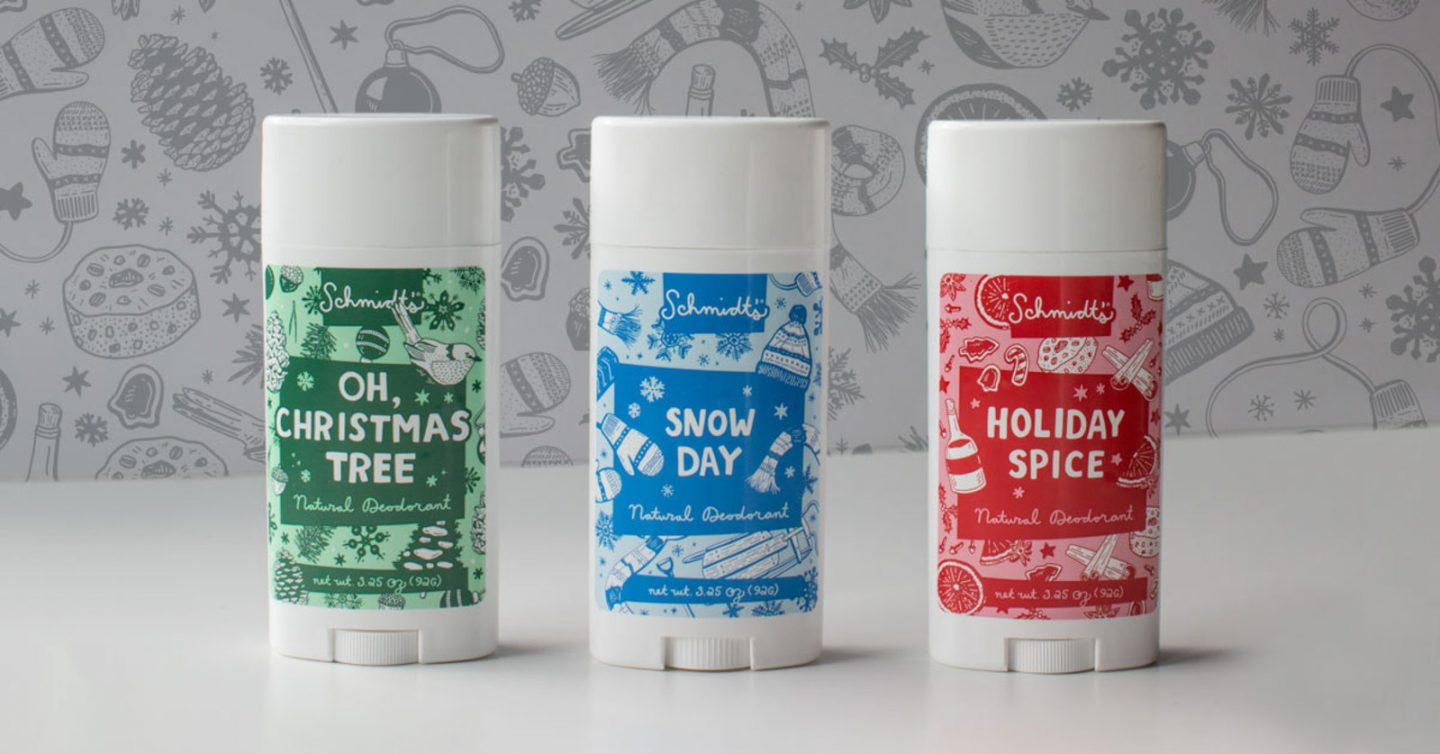 Is Holiday Themed Deodorant Too Much?