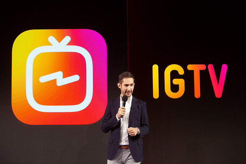Instagram Competes with YouTube, Launches IGTV